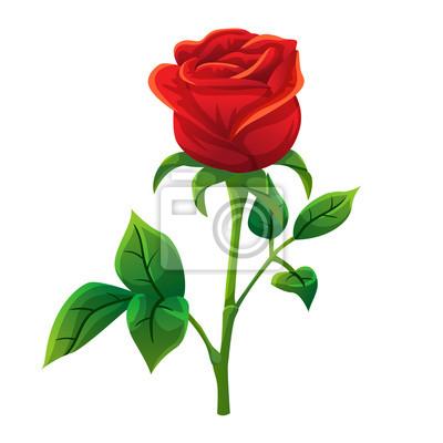 Papiers Peints Rouge Rose Dessin Animé Style