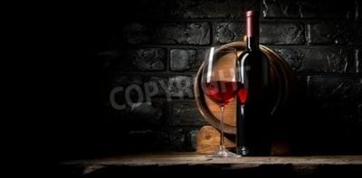 Papiers peints Rouge, vin, fond, vieux, noir, briques