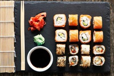 Papiers peints Rouleaux de sushi