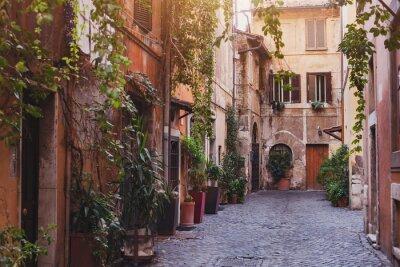 Papiers peints Rue confortable à Rome, Italie
