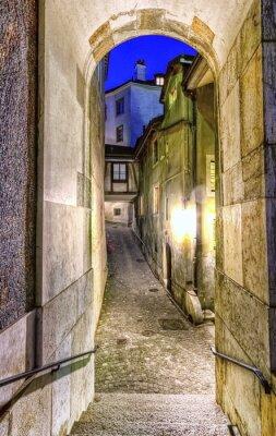 Papiers peints Rue dans la vieille ville, Genève, Suisse