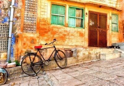 Papiers peints Rue, vue, vieux, quartiers, Jodhpur, ville, Inde