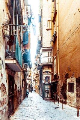 Papiers peints Rue, vue, vieux, ville, Naples, ville