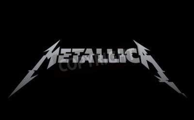 Papiers peints RUSSIE - 09 FÉVRIER 2017: Metallica nouveau logo