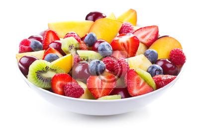 salade de fruits frais et de baies