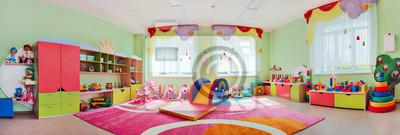 papiers peints salle de jeux pour enfants panorama