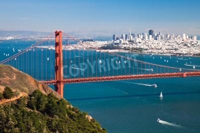 Papiers peints San Francisco Panorama de la baie de San Francisco