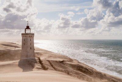 Papiers peints Sandstorm au phare
