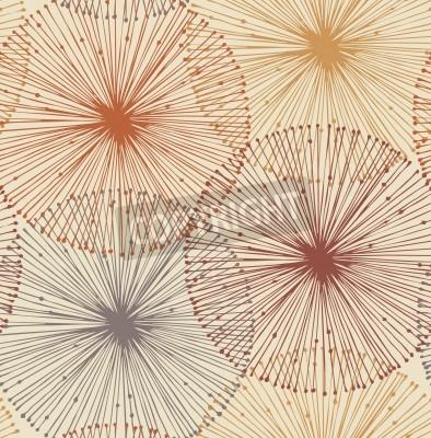 Papiers peints Sandy et éléments radiaux oranges Seamless background pour modèles, des cartes, des textiles, papiers peints, des pages Web