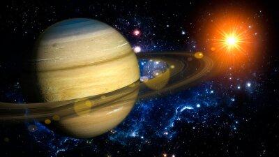 Papiers peints Saturne