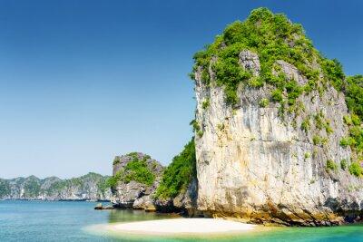 Papiers peints Sauvage, plage, déserte, tropical, île, Ha, long, Baie