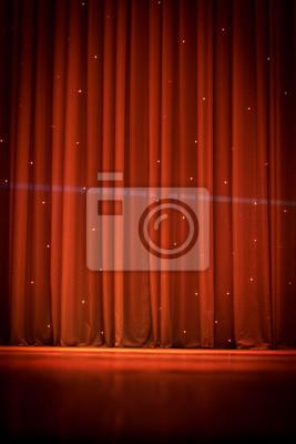Papiers peints: Scène, rideau, théâtre
