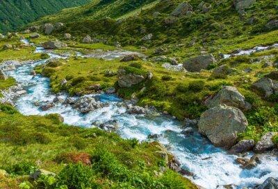Papiers peints Scenic rivière Alpine