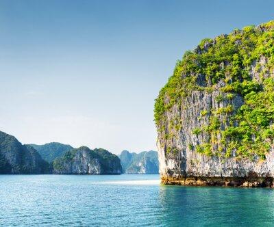 Papiers peints Scénique, karst, tour-île, Ha, long, baie, Vietnam