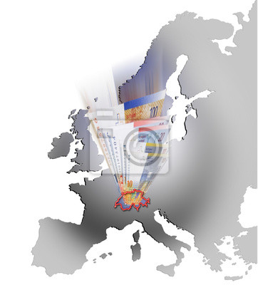 Schweizer Franken dans Europa