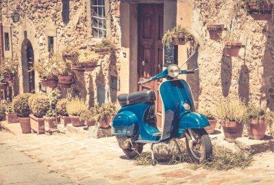 Papiers peints Scooter en Toscane