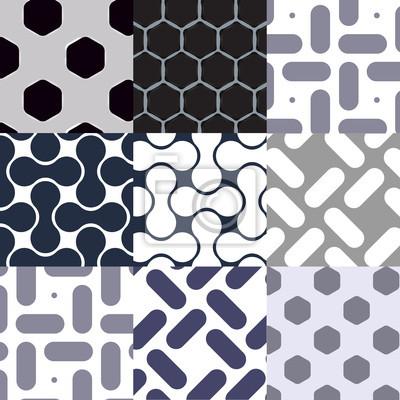 Seamless des textures métalliques (avec des nuances)