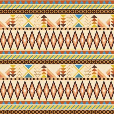 Papiers peints Seamless ethnique tribal de bande. échantillons inclus.