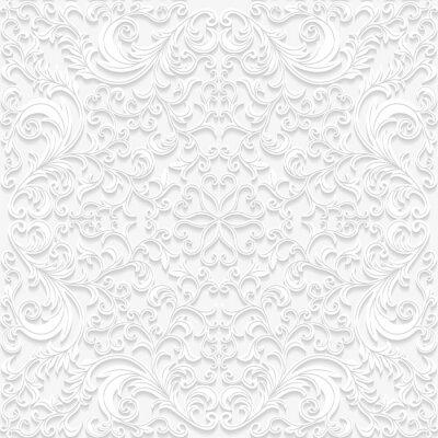 Papiers peints Seamless floral pattern dans un style traditionnel