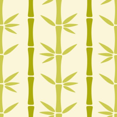 Papiers peints Seamless, modèle, bambou, Arbres