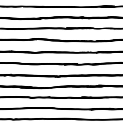Papiers peints Seamless, modèle, encre, horizontal, Lignes