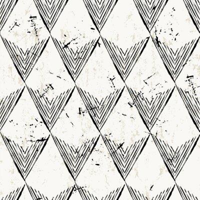 Papiers peints Seamless, modèle, fond, triangles, coups, splashe