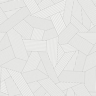 Seamless, modèle, résumé, ligne, Ornement