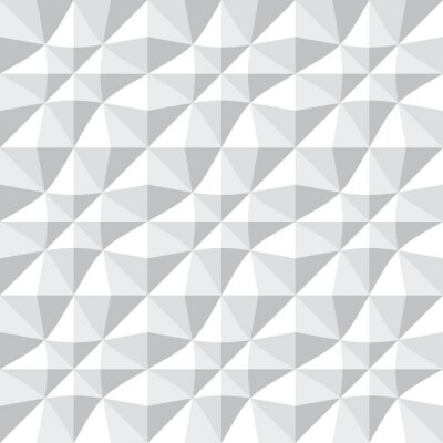 Papiers peints Seamless pattern 3d.