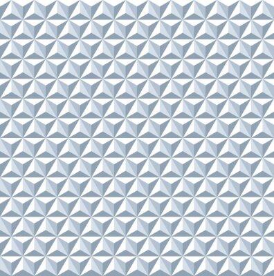 Papiers peints Seamless pattern 3d. Texture géométrique.