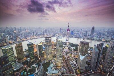 Papiers peints Shanghai, Chine Vue aérienne