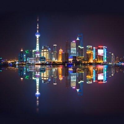 Papiers peints Shanghai horizon, carré