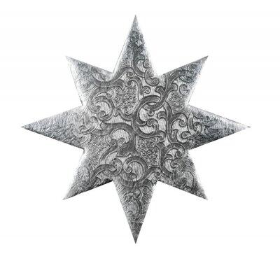 Silver Star de Noël