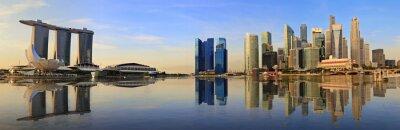 Papiers peints Singapour panorama horizon le matin