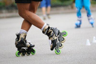 Papiers peints Skater permanent se tenait pour la formation, les sports d'action.