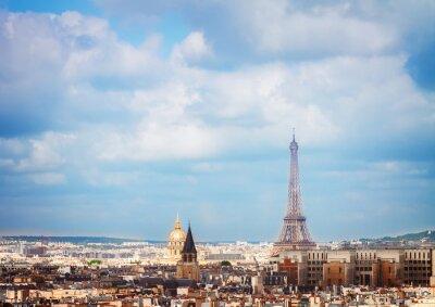 Papiers peints Skyline de Paris avec tour eiffel