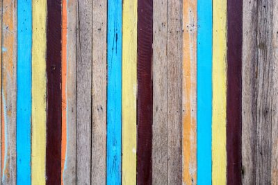Papiers peints Slat coloré