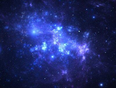 Papiers peints Sombre Starfield de l'espace profond
