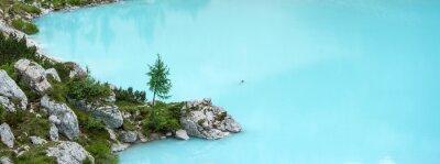 Papiers peints Sorapis, Lac, Dolomites, montagne
