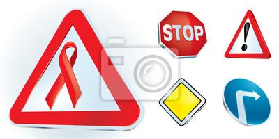 """""""Soyez prudent sur le chemin de la vie"""" des signes"""