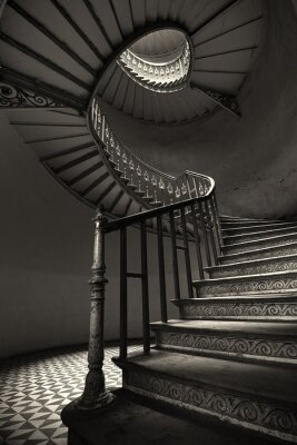 Papiers peints Spiral Stairs