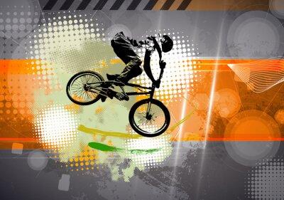 Papiers peints Sport, illustration BMX