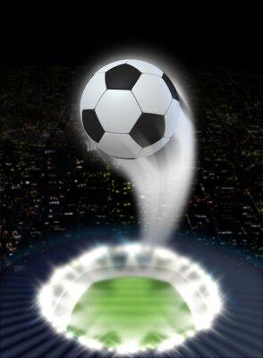 Papiers peints Stade Nuit avec Ball Swoosh
