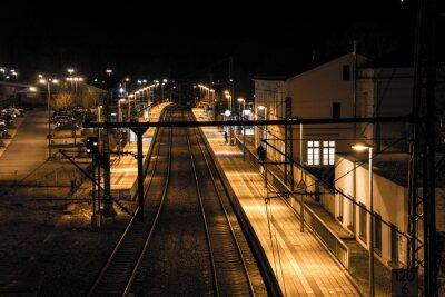 Papiers peints Station de la nuit