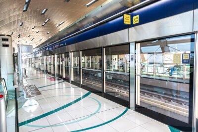 Papiers peints Station de métro à Dubaï