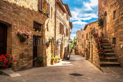 Papiers peints streets of Italian city, Tuscany, Italy