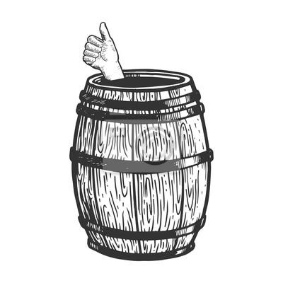 Style à gratter imitation. Image dessiné main noir et blanc.