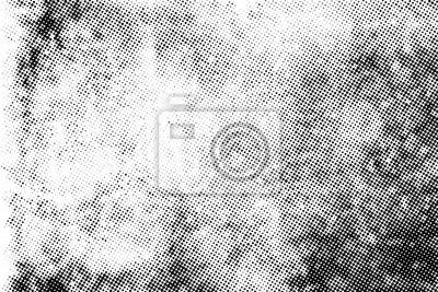 Papiers peints Subtle halftone vector texture overlay. Monochrome abstract splattered background.