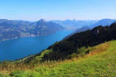 Papiers peints Suisse, montagne et lac