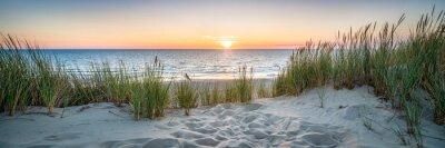 Papiers peints Sunset at the dune beach