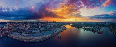 Papiers peints Sunset over Dnipro